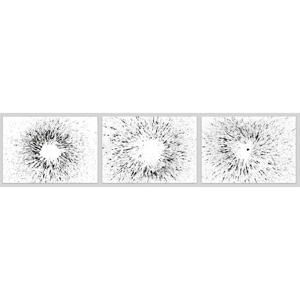 Triptych Untitled No. 119 by Sumit Mehndiratta
