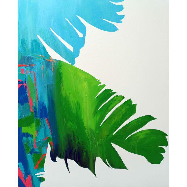 Tropical Banana Leaves by Abhishek Kumar