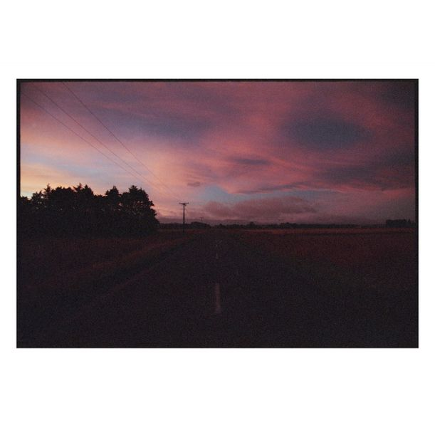Onga Onga Sunset by Damian Seagar