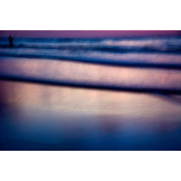 Blurry fisherman by Tal Paz-Fridman