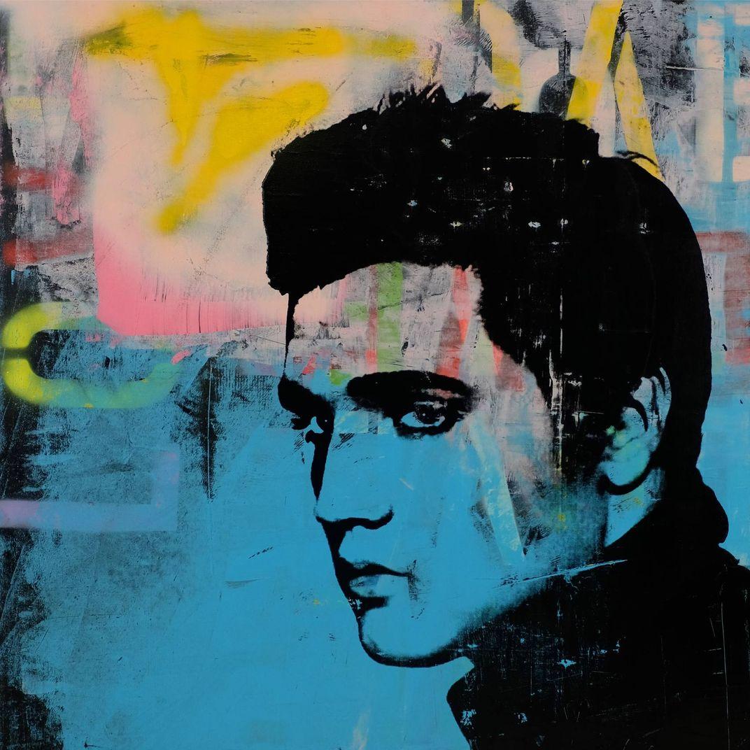 Elvis Presley by Dane Shue