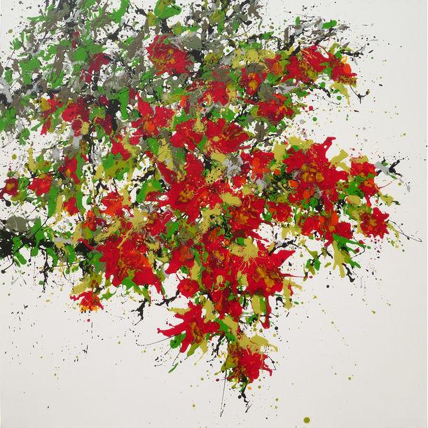 Red Tree by Isabelle Pelletane