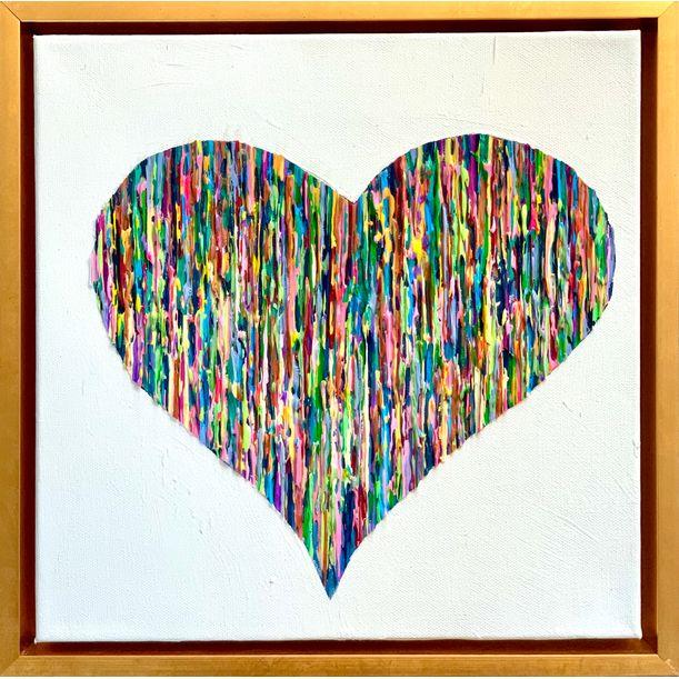 Bright Love - Colorful by Daniela Pasqualini