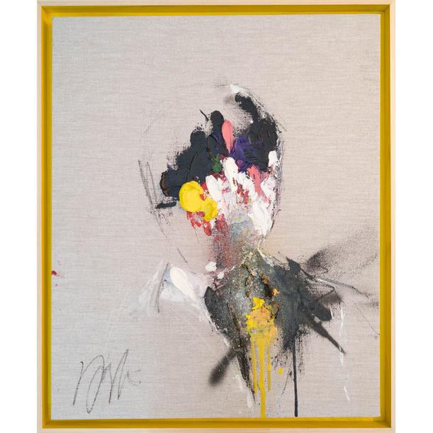 Yellow Portrait work by Tomoya