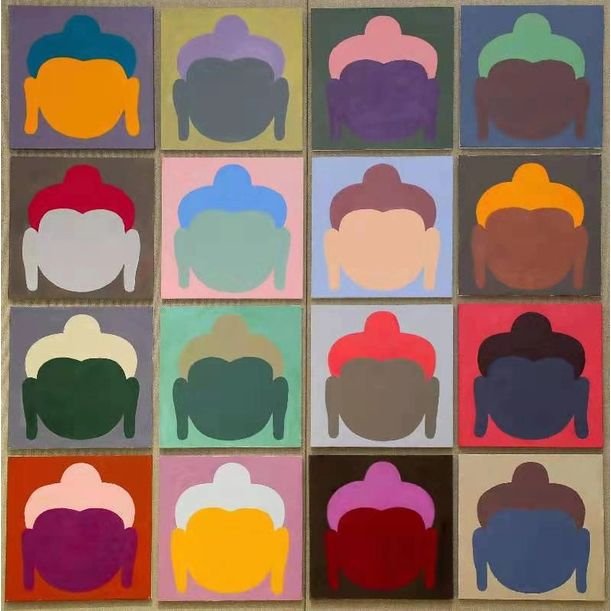 Buddha Heads by Wong Shun Kit(王純杰)