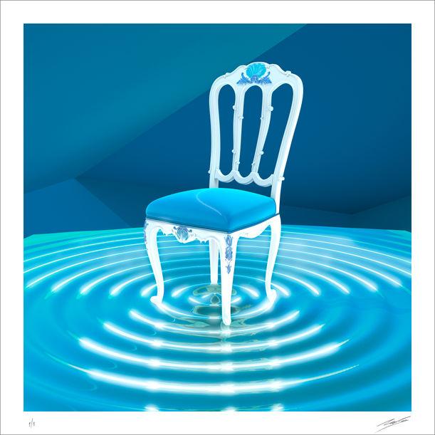 Baroque Chair by Nacho Frades