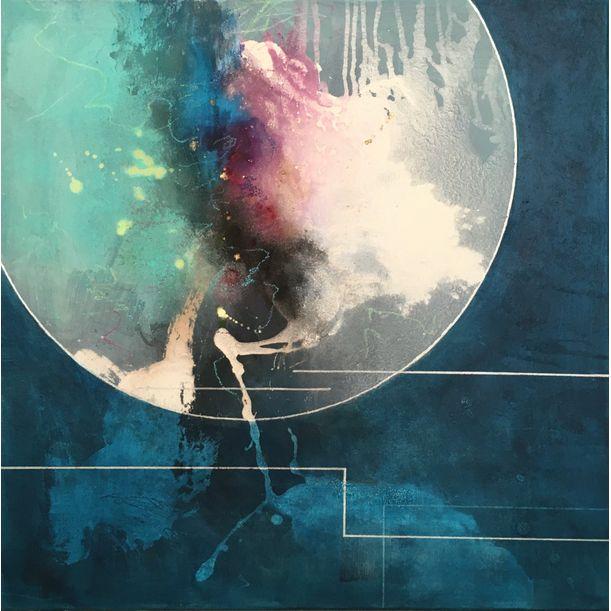 Cosmic connection #2 by Ryoko Minamitani