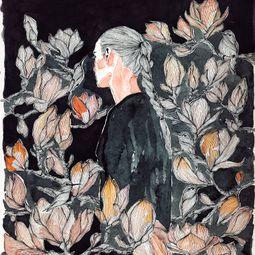 The Gardens Of Splendor No:9 by Erna Ucar