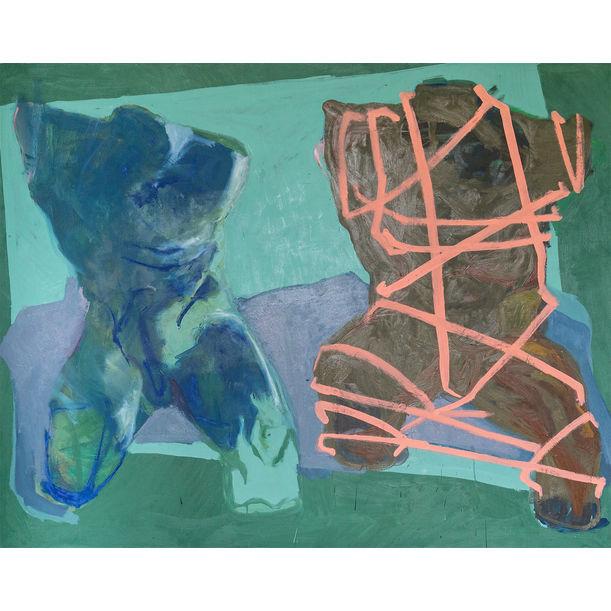 Two Torsos by Endre Kecső
