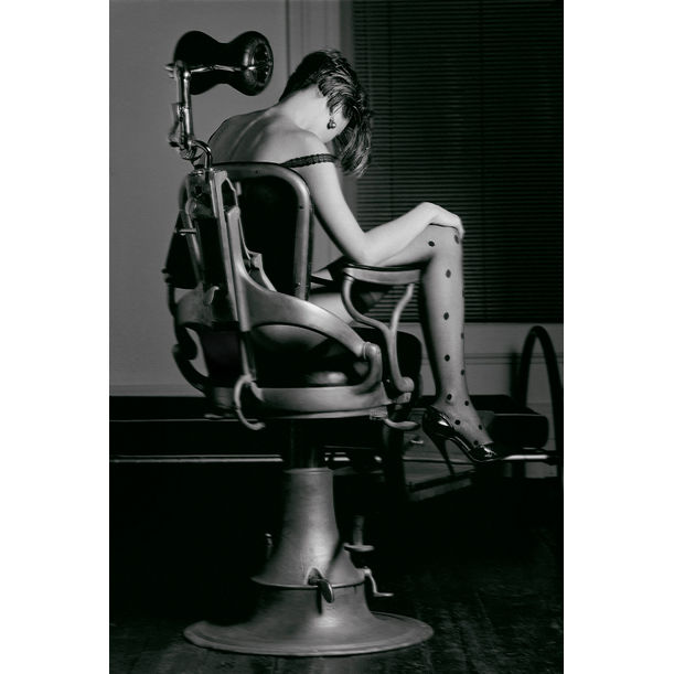 Francesca - Signed limited edition fine art print, Black and white analog photography by Ian Sanderson