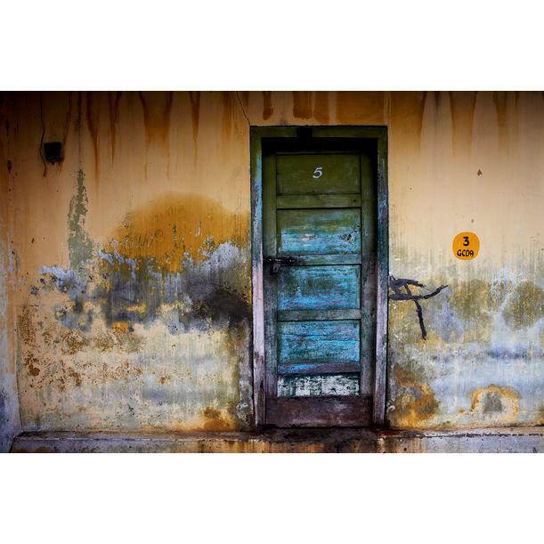 Laundry Door, Fort Kochi by Ty Mecham