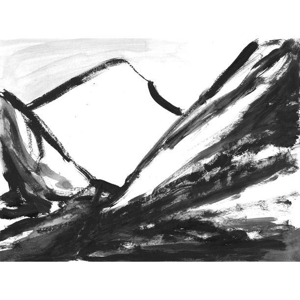 Mountains 005 by Anastasia Vasilyeva