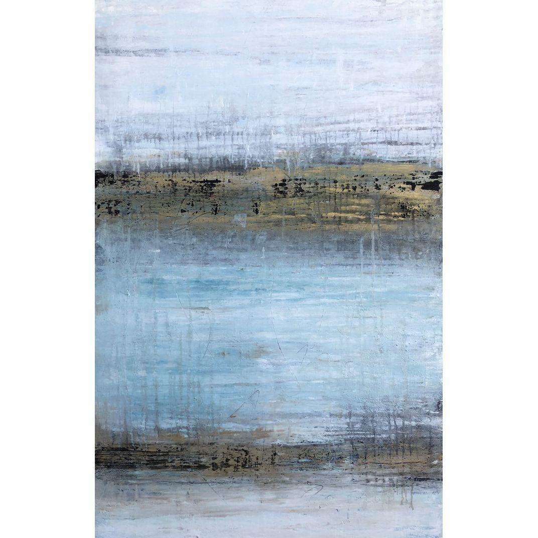 """1369 Gold/White/Turquoise by Roger König"