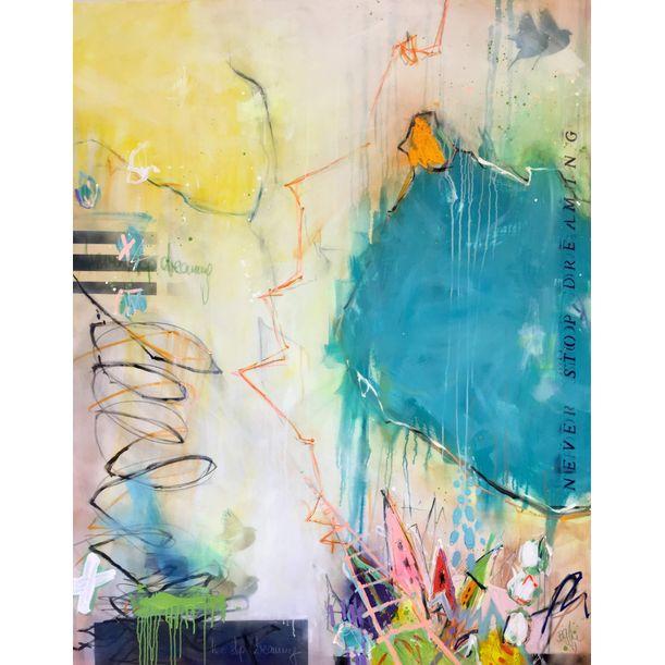 never stop dreaming I (XXL) by Bea Garding Schubert