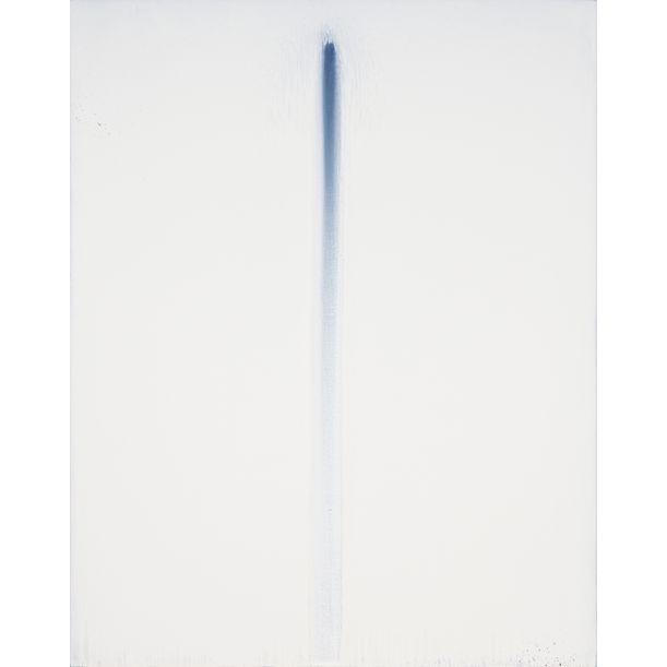 White on Blue No. 6 by Luke Heng