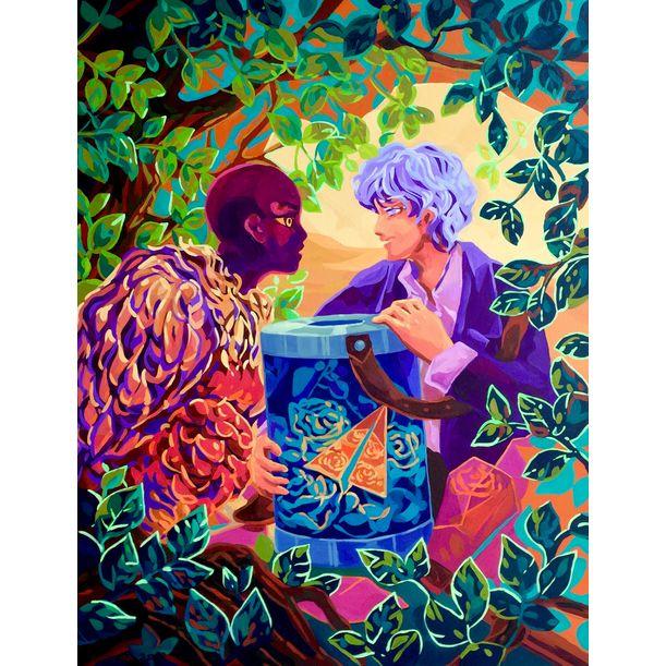 Intimacy #2 (In between world series) by Aurora Santika