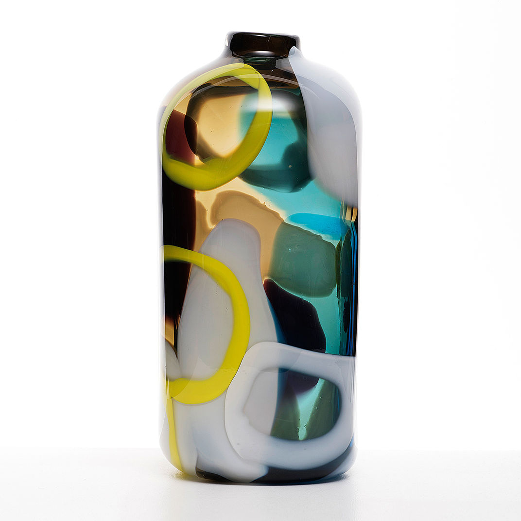 Bottle, square shaped by Martin Potsch