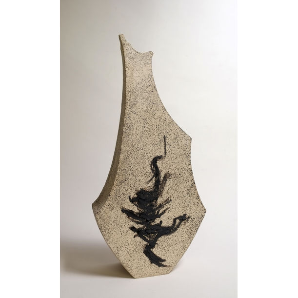 Sculptural Ceramic Vessel - Gestural - DECOR by Beverly Morrison