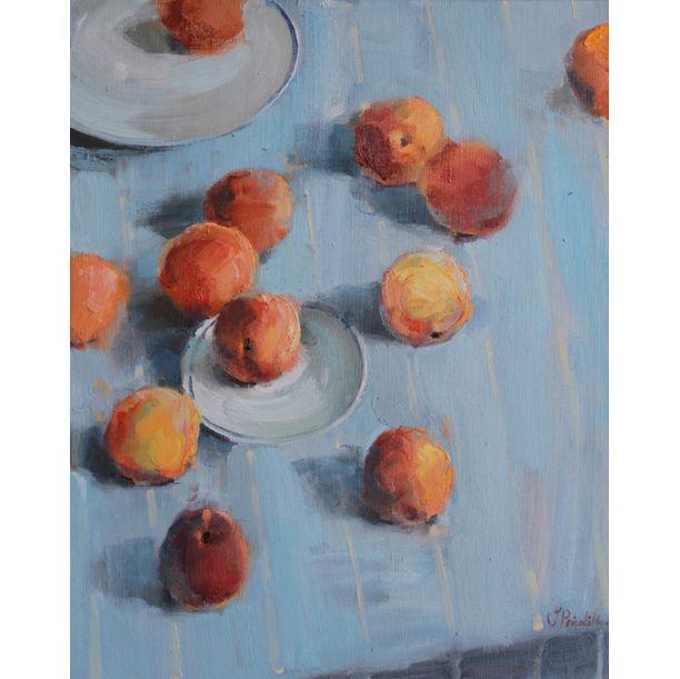 Peaches by Valeria Privalikhina