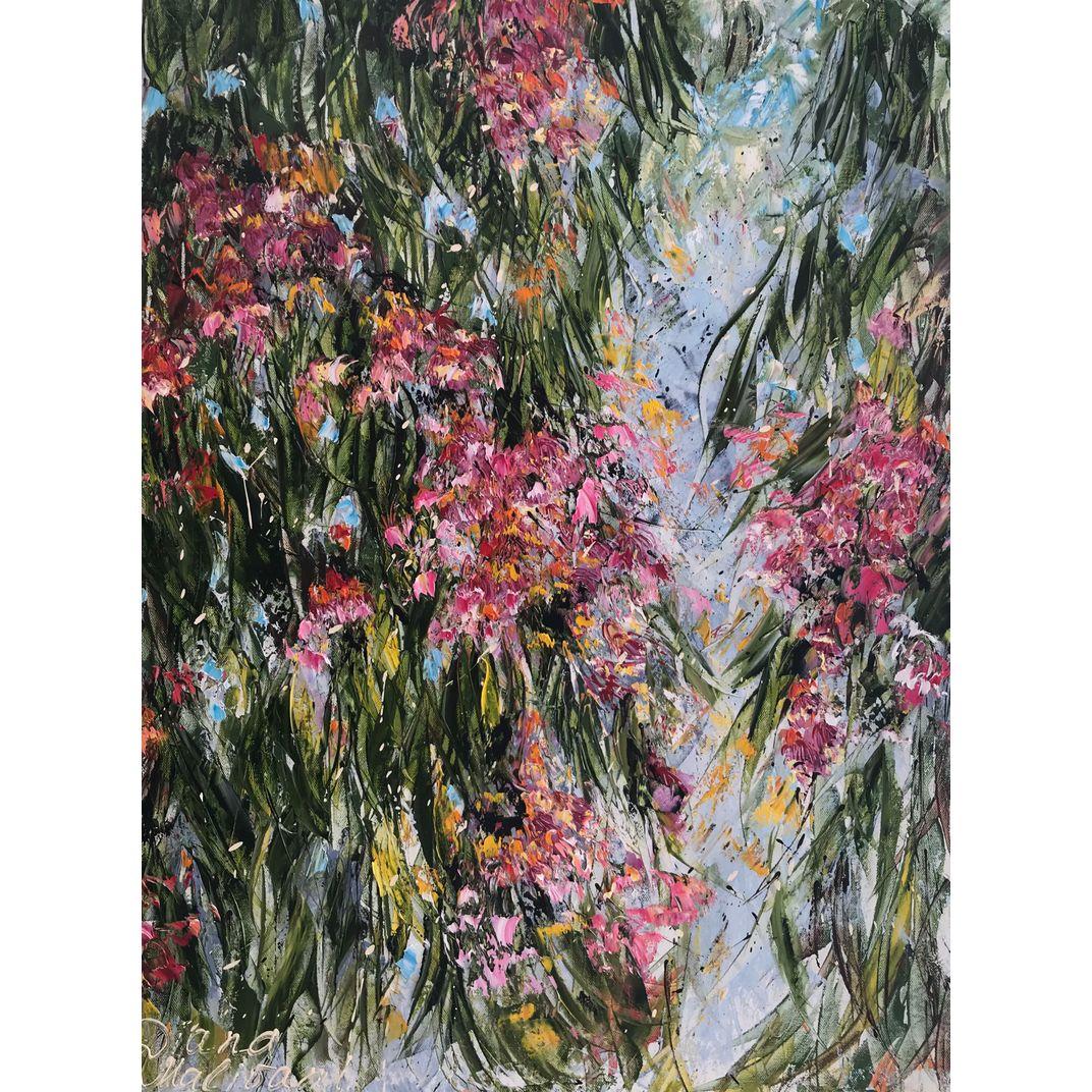 Bloomy Eucalyptus Tree by Diana Malivani