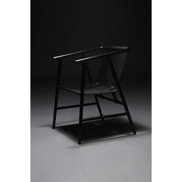 Black Dream Drop Chair by Sheng Yin