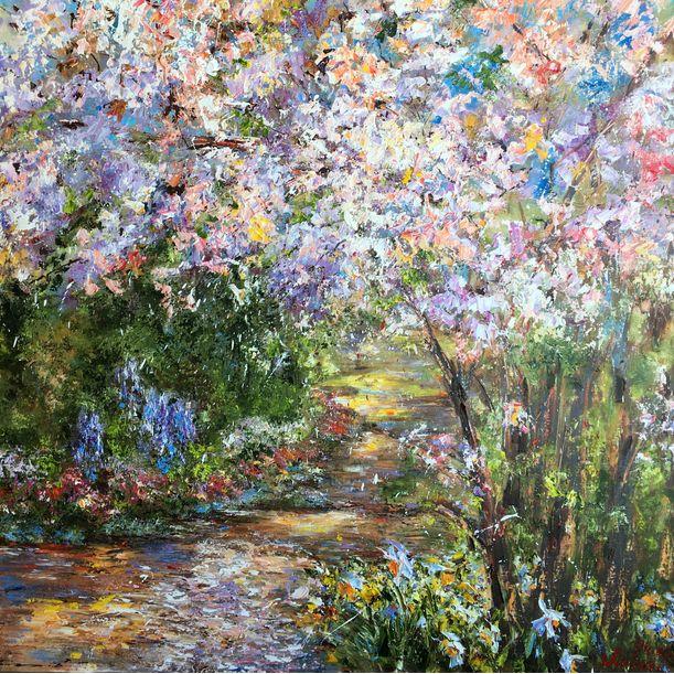 Blooming Garden by Diana Malivani