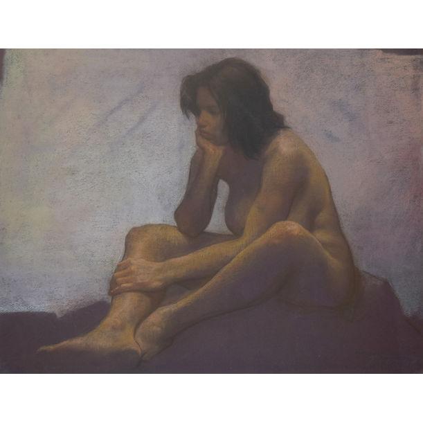 "Girl in Shadow by Jose ""Kimsoy"" Yap Jr."