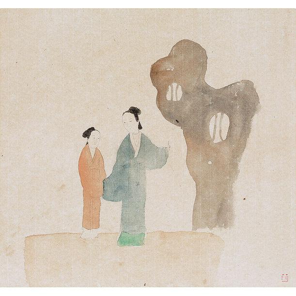 At Dusk by Wang Mengsha