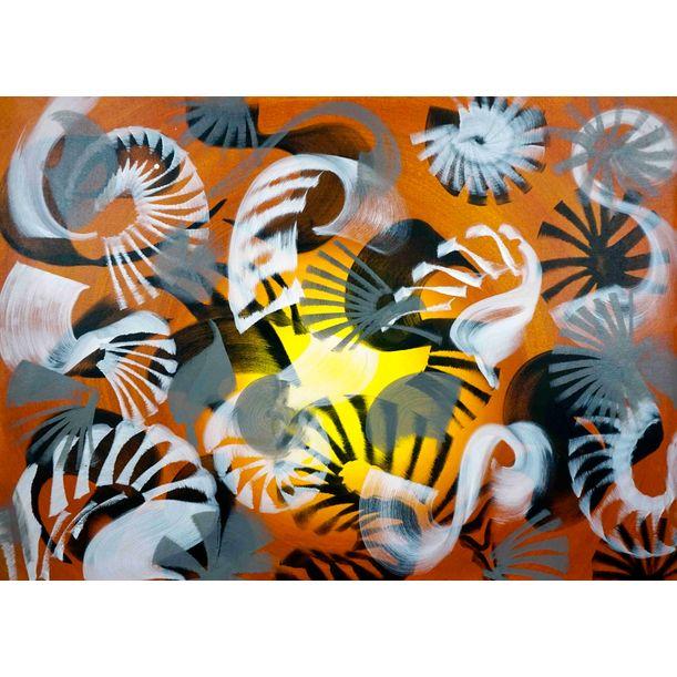 Composition No. 209 by Sumit Mehndiratta