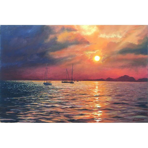 Sunset by Igor Dubovoy