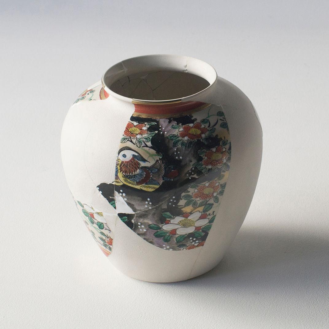 Reconstructed Ceramics #7 by Norihiko Terayama