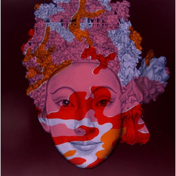 Camouflage Sita (after A.Warhol) by Jirapat Tatsanasomboon