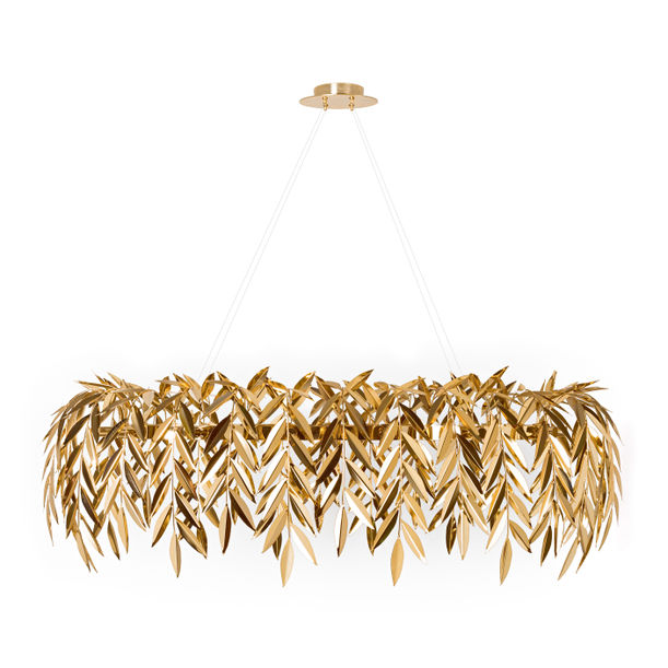 Azores | brass chandelier by Joana Santos Barbosa