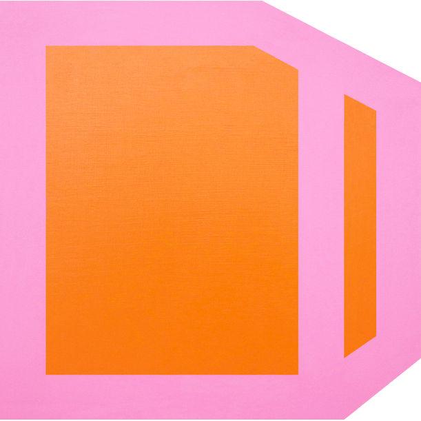 Plumb (orange) by Brent Hallard