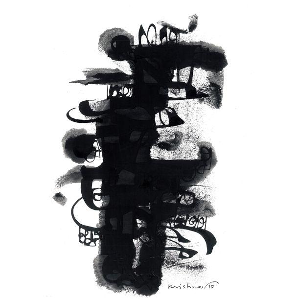 'Subconscious Reflection' VIII by Krishna Pulkundwar