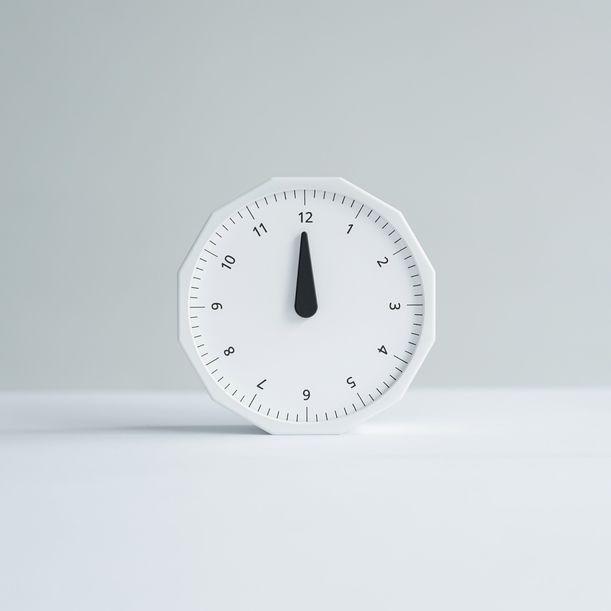 World Clock (White) by Masafumi Ishikawa