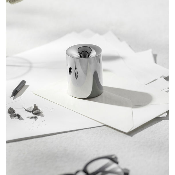 FUNNO -Pencil Sharpener& Paper Weight-Silver by Beyond Object