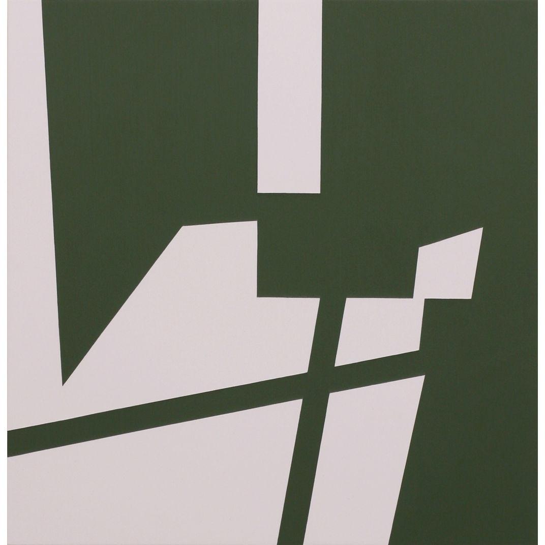 Green Error Complex 5 by Katherine Lubar