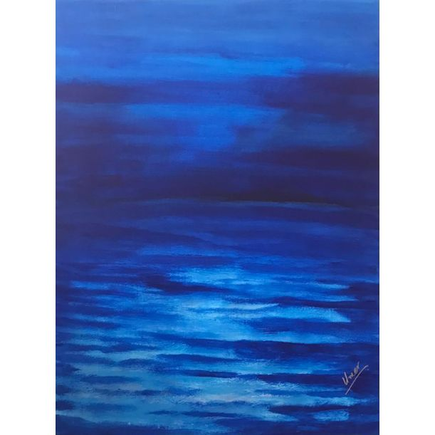 Deep blue sea by Muhammad Umer