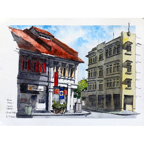 Jalan Besar in Singapore by Michael Persch