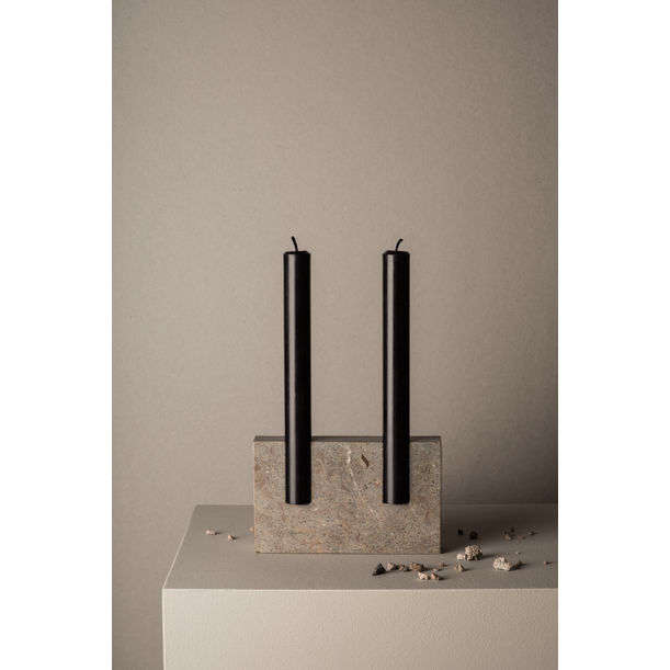 Snug candle holder - Smooth grey by Sanna Völker