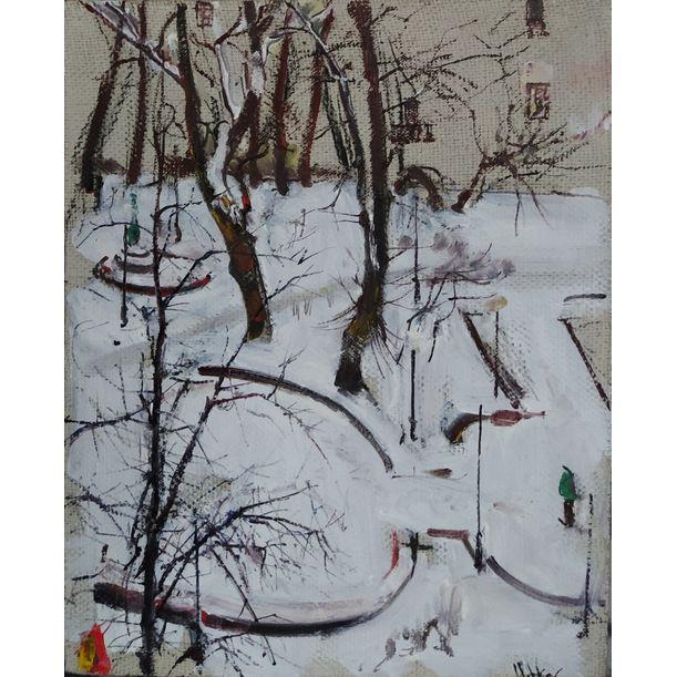 Petrov`s Garden. Winter`s Tale by Yuriy Ushakov