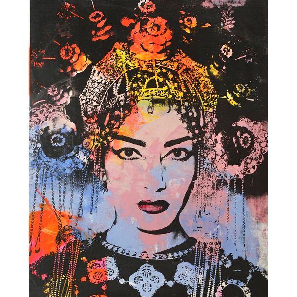 Maria Callas by Dane Shue