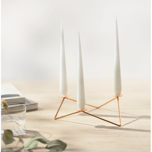 AVANI candle holder-Copper by Beyond Object