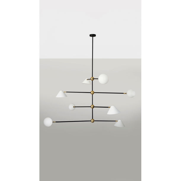 BALL AND SHADE – PENDANT LIGHT by Square in Circle Studio