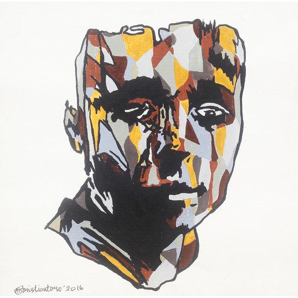 Face series #6 by Adhik Kristiantoro