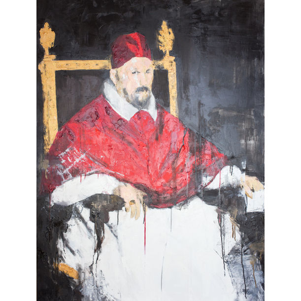 Pope Innocent X by Tomoya