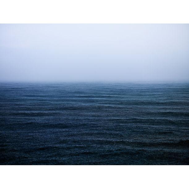 Rain on the Aegean Sea by Baldemar Fierro