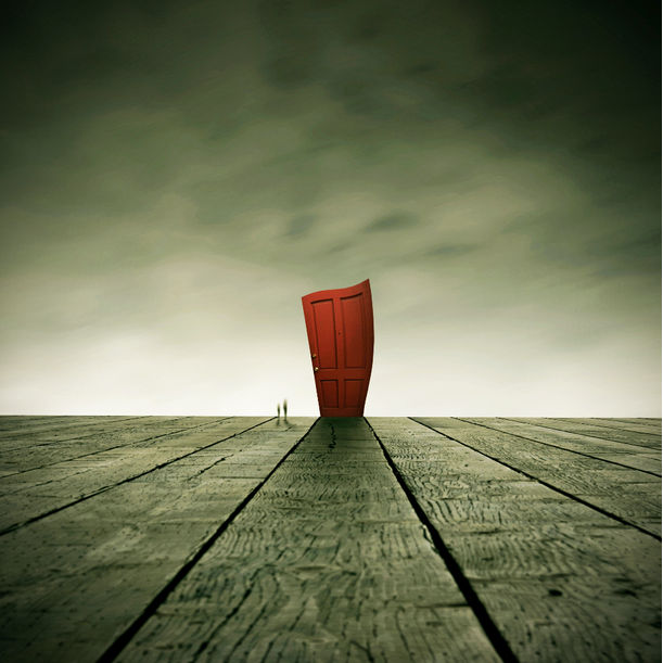 The Secret of The Red Door by Michael Vincent Manalo