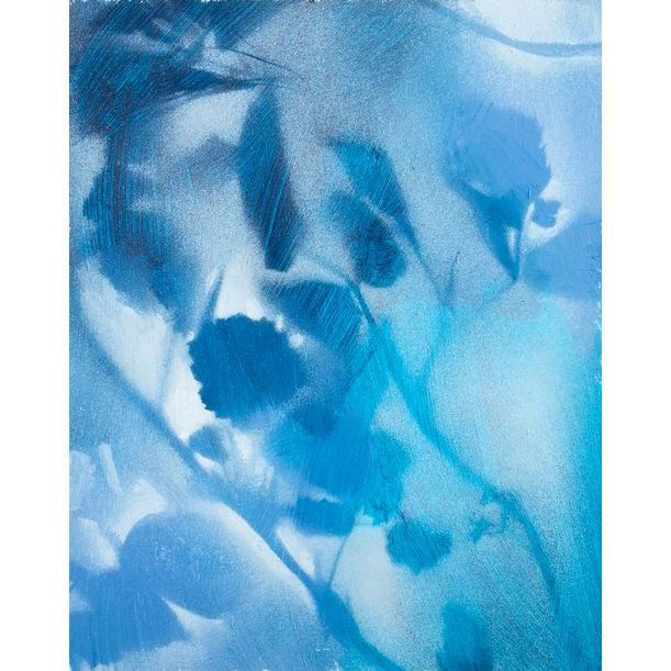 Foliages in blue by Fabienne Monestier